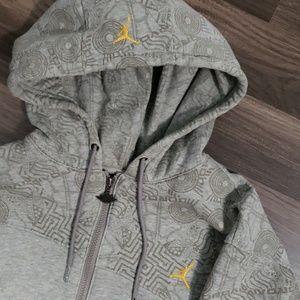 🏀 Jordan Hoodie fresh pin strip design 🏀 SZ L
